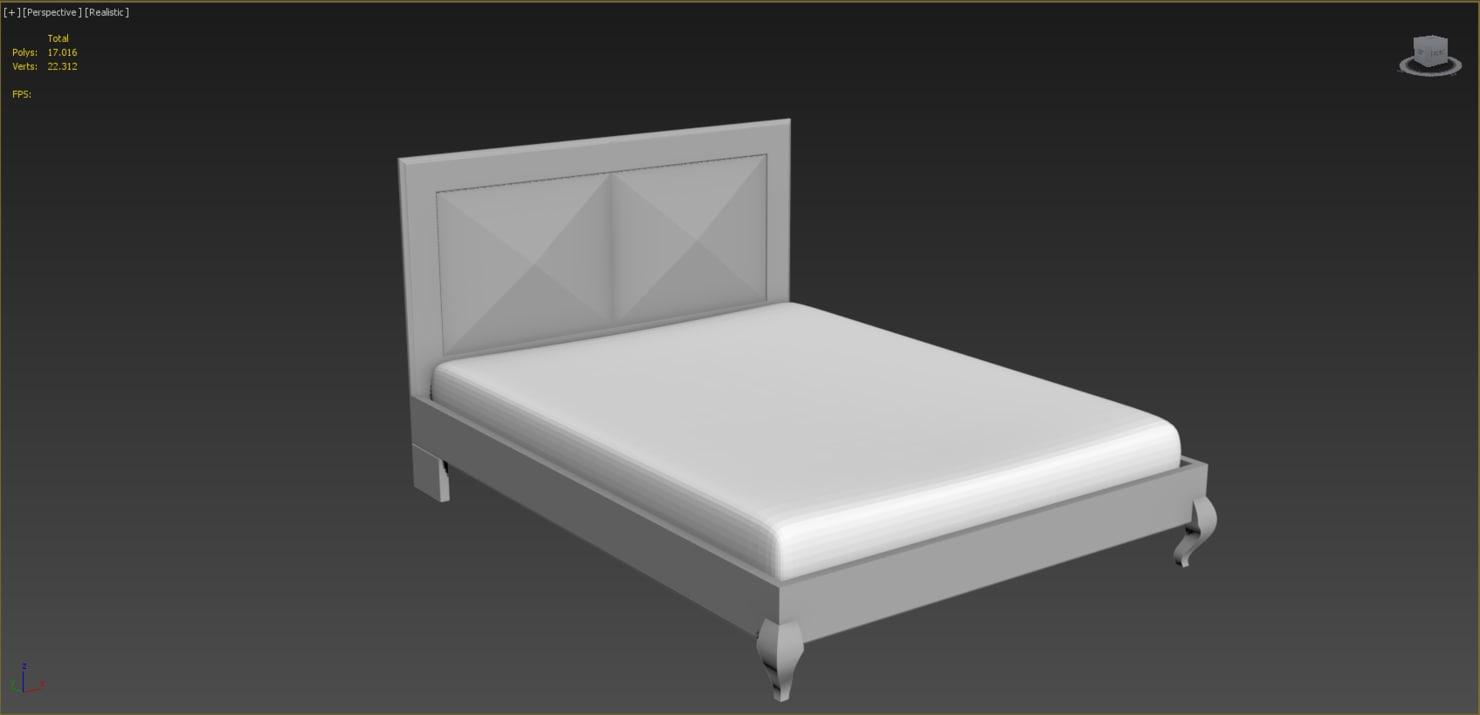 max bed design rhino