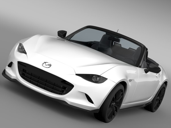 mazda roadster rs 2016 3d max