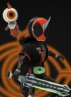 kamen rider ghost 3d model