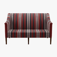kk60920 greek sofa 2 seater 3d fbx