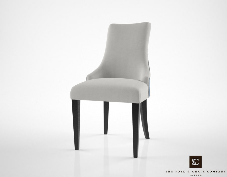 3d model sofa chair charles dining