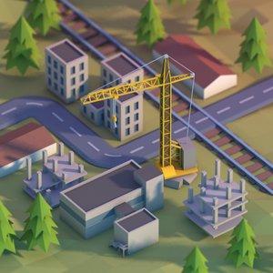 max city development area