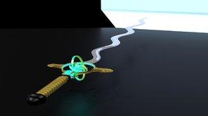 sword heaven 3d model