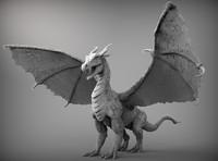 Zbrush Dragon