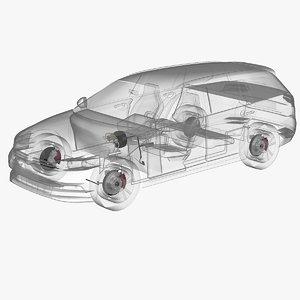 3d x-ray brake