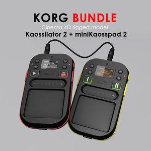 3d model of korg rig