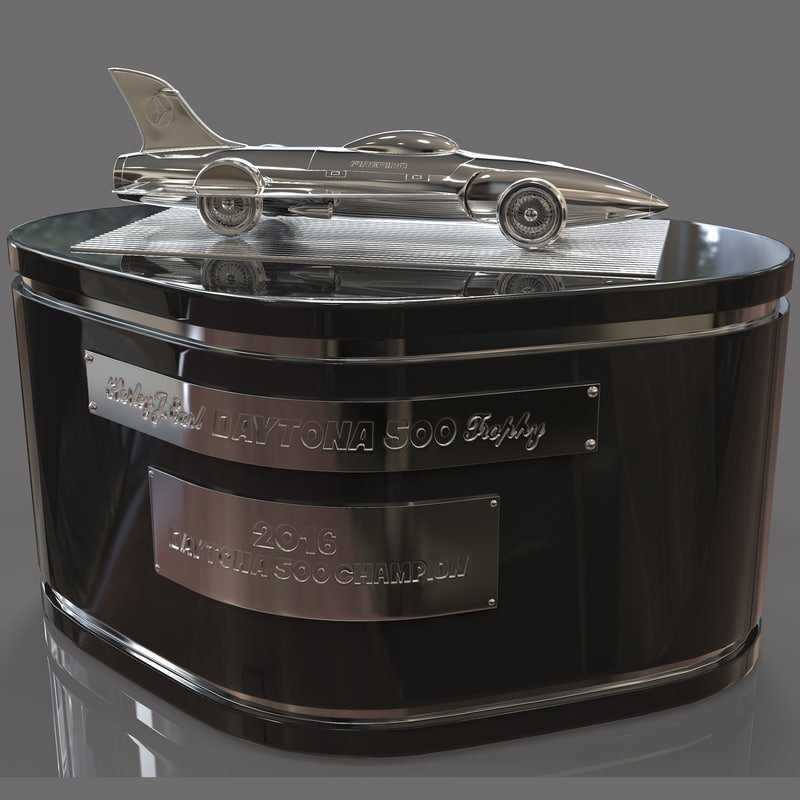 3d model daytona award