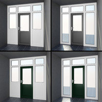 High quality model of door #8: interior & exterior PVC French Patio