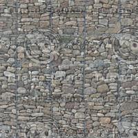 Gabion Retaining Wall Texture