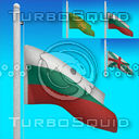 bulgarian flag 3D models