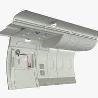 A380 Emergency Exit with Wall section