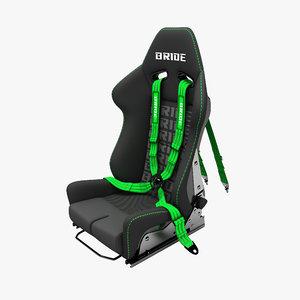 3d max sport seat bride