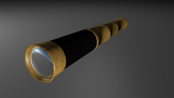 3d spyglass spy glass model