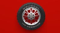 blend terrain tire rim