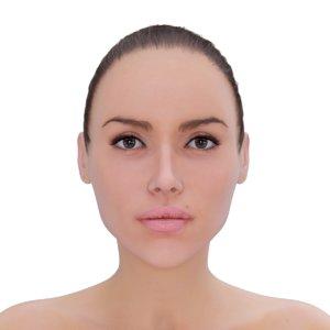3d female skin