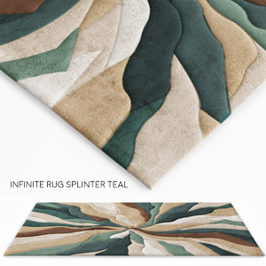 rug infinite splinter 3d max