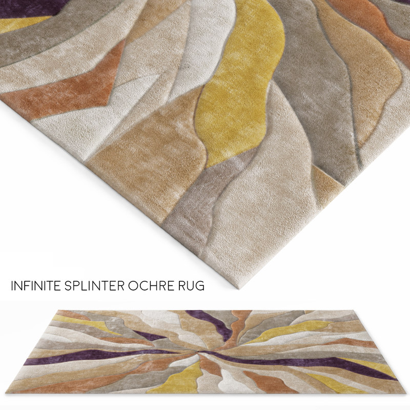 3d model rug infinite splinter