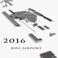 rdu airport 3d 3ds