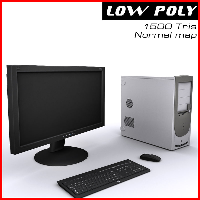 3d computer ready games model