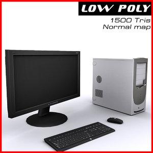 3d computer ready games model