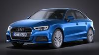 Audi A3 2017 sedan