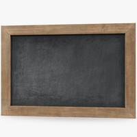 3d model slate board