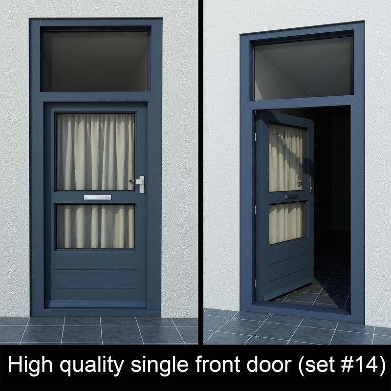 3d single door settings