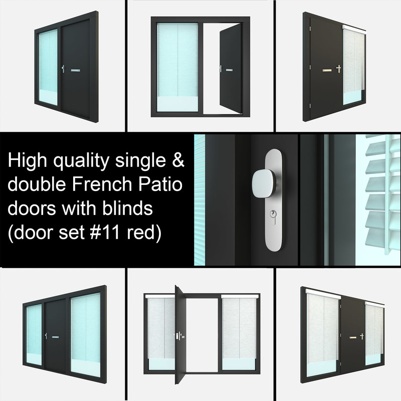 single exterior door settings obj