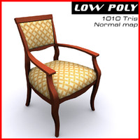 3d arm chair model