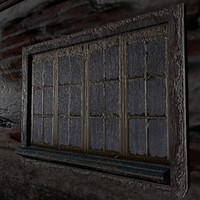 Window old creepy