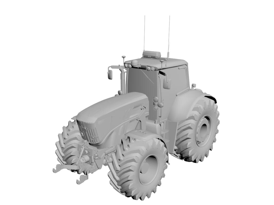 3d model john deere loader