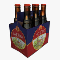 Six Pack of Fat Tire