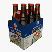 Six Pack of Fat Tire Amber