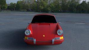 3d 1964 porsche 911 hdri