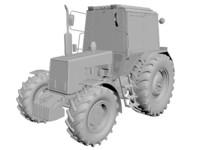 mtz 892 3d model