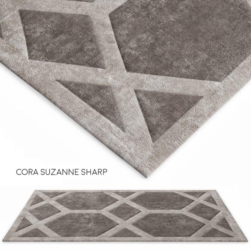 cora suzanne sharp 3d model