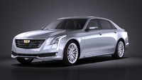 2016 cadillac ct6 3d 3ds