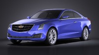 3d coupe 2015 cadillac model
