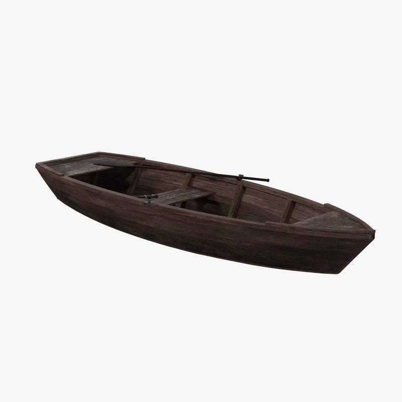 wood boat max free