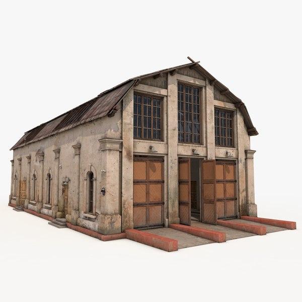 3d warehouses depot games model