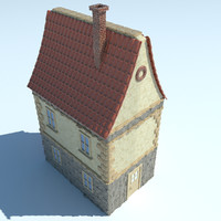 3d model dutch netherlandish house