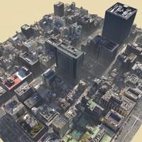 Tokyo Lowpoly City Block 03