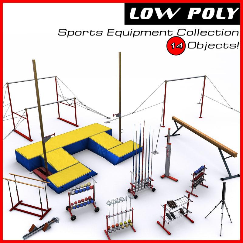 3d sports equipment