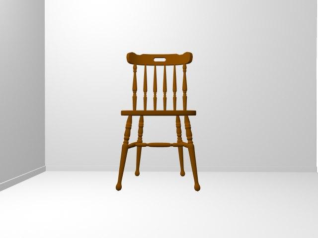 chair 3d ma