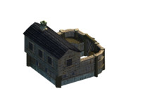 timbered colonial 3d x