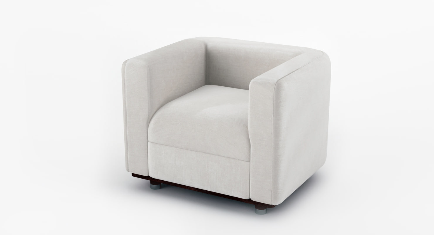 bold armchair 3d max