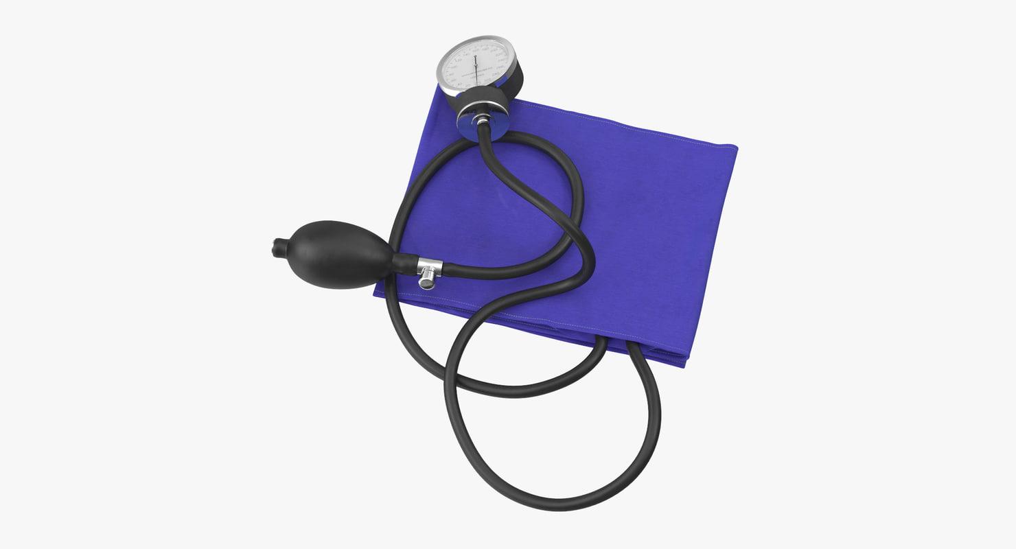 blood pressure monitor 3d max