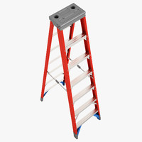 Double Sided Stepladder 02