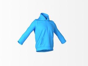 cloth marvelous designer 3d model