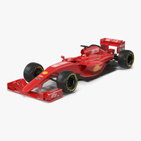 Formula One Car Red